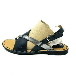 New B.O.C. Lowery Leather Split Toe Casual Slingba